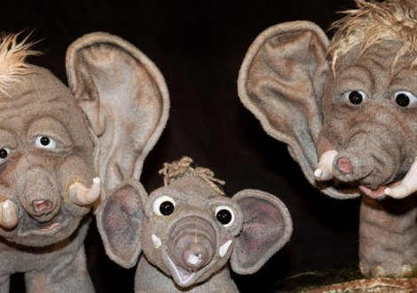 Wie der Elefant zu seinem Rüssel kam, © 2019, moving puppets