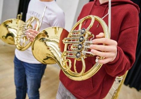 Instrumentenwelt: Klassiko Orchesterinstrumente, © Claudia Höhne