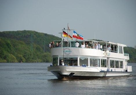 Salonschiff Aurora auf der Elbe, © Tourismus
