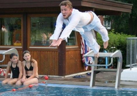 Rettungsschwimmtraining, © DLRG Quickborn