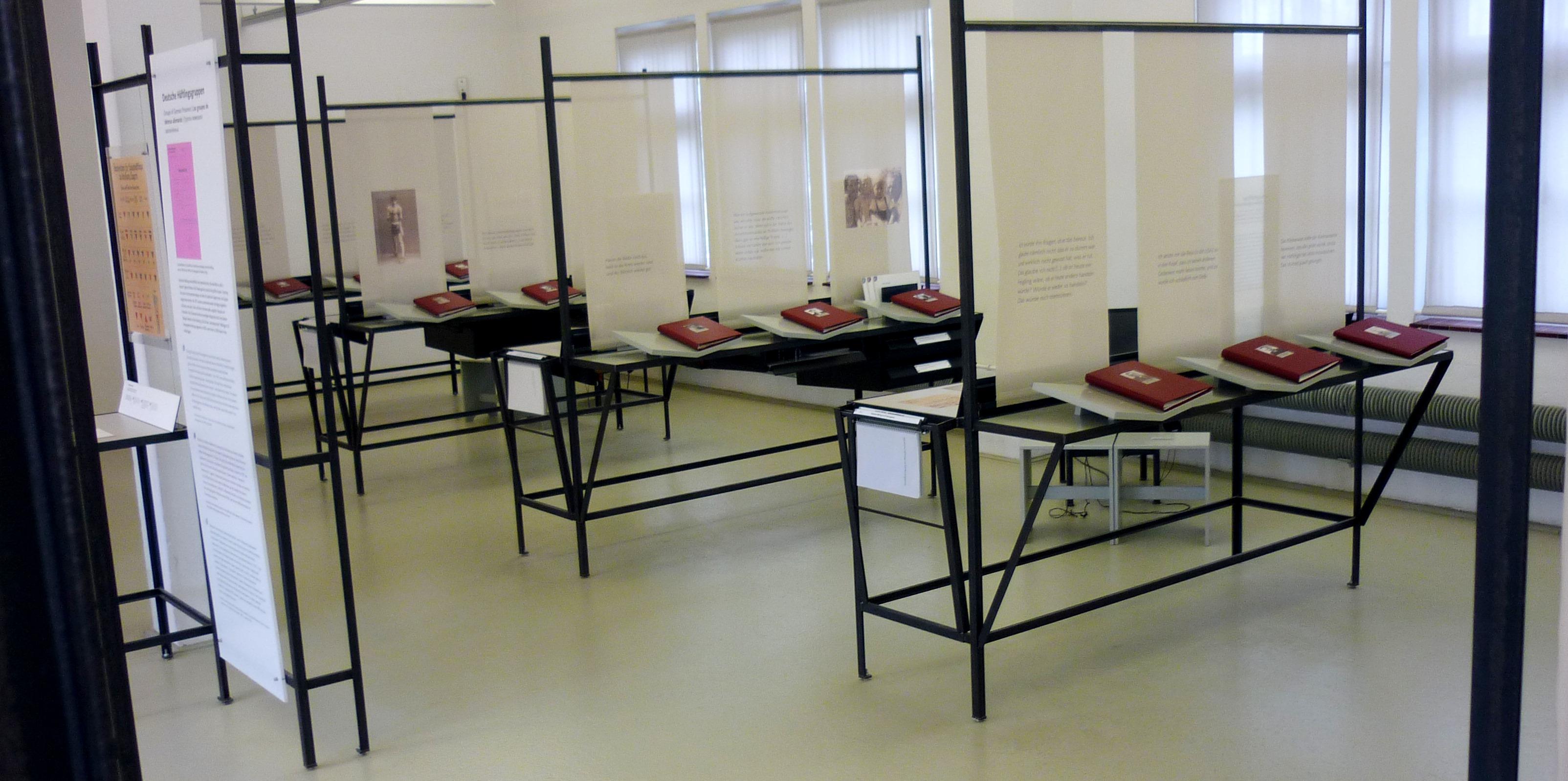 Zeitspuren in Hamburg, Ausstellung, 09.06.2018, KZ-Gedenkstätte Neuengamme - Copyright KZ-Gedenkstätte Neuengamme (ÖA)
