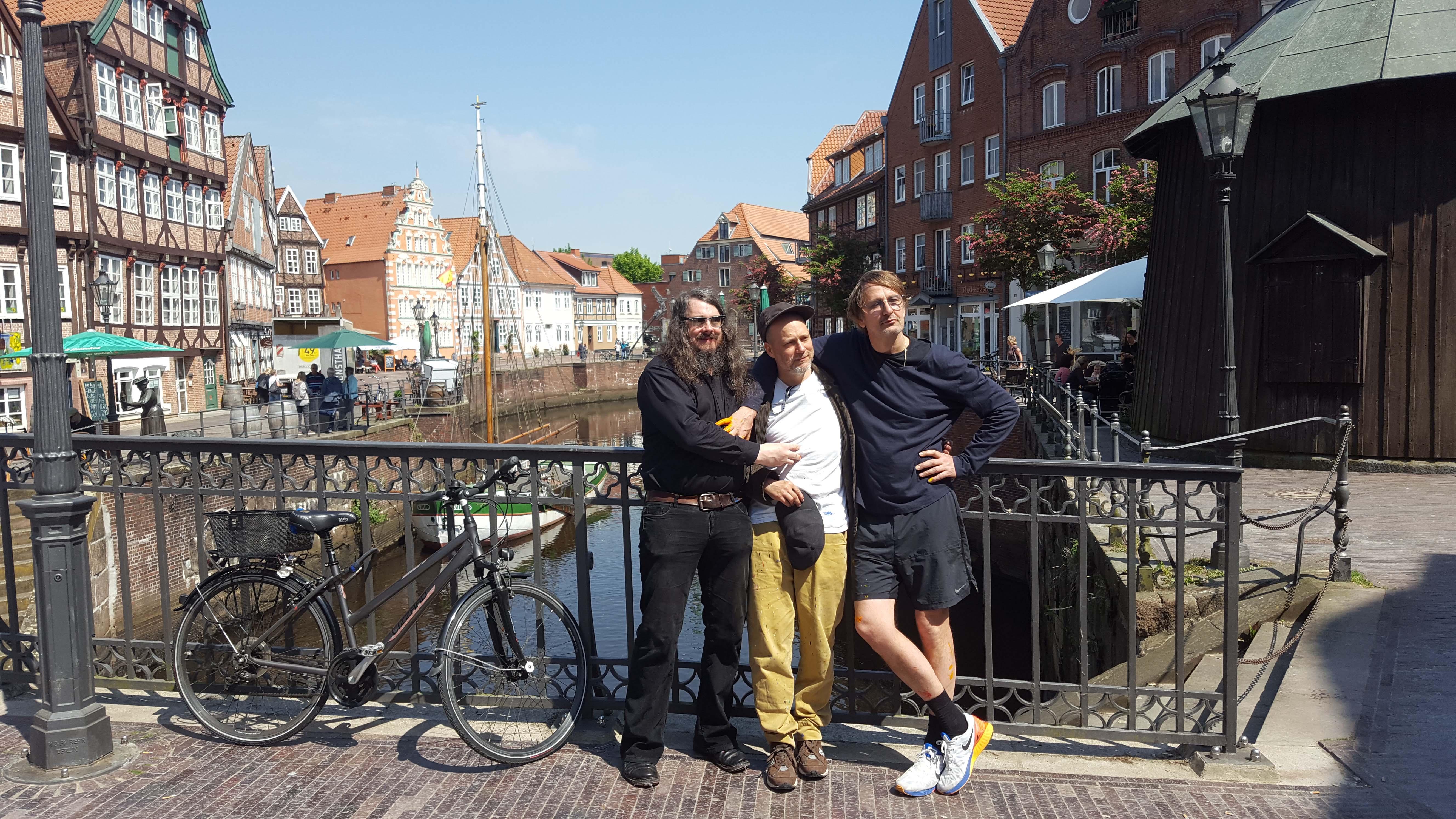 Jonathan Meese, Daniel Richter und Tal R: Bavid Dowie
