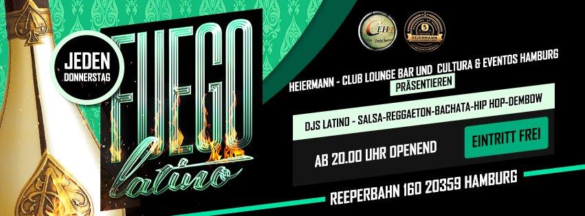 Fuego Latino in Hamburg, Party, 23.11.2017, Heiermann - Club Lounge Bar - Copyright Cultura y Eventos Hamburg