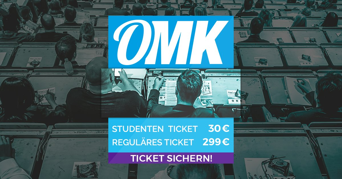 OMK - Online Marketing Konferenz Lüneburg