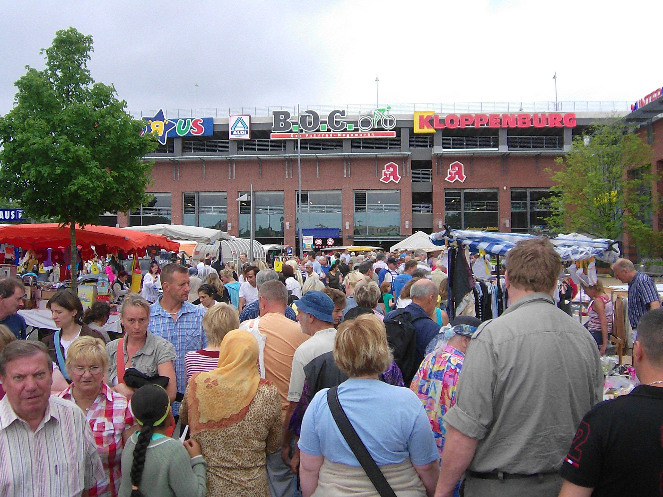 Flohmarkt beim CITTI-Park
