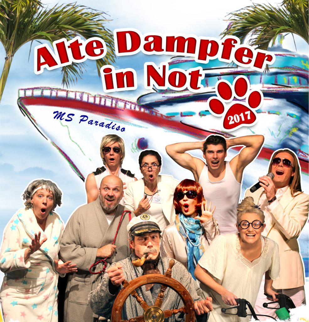 Alte Dampfer in Not in Hamburg, Kleinkunst, 26.04.2018, Theater an den Elbbrücken - Copyright Theater an den Elbbrücken