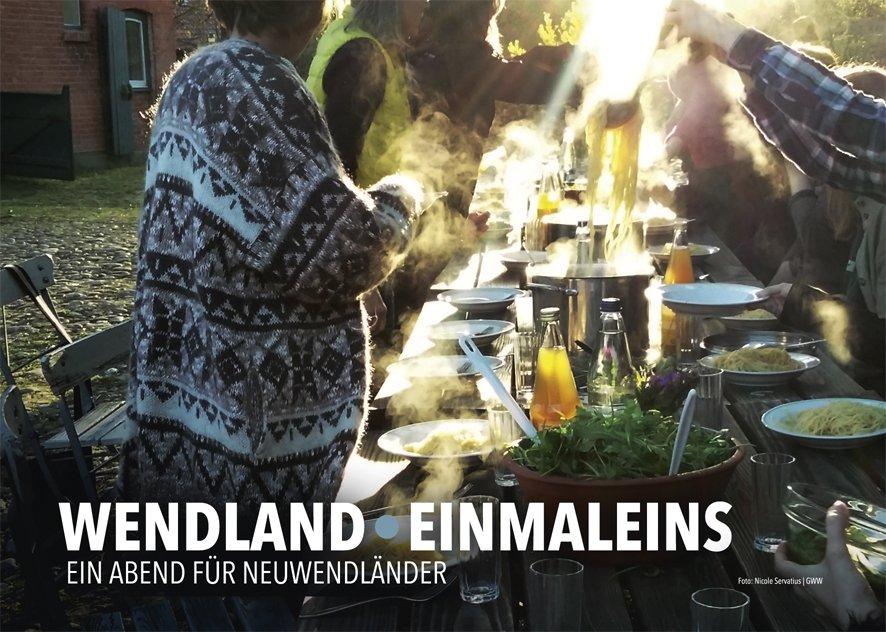 Wendland Einmaleins - ein Abend für Neu- und Altwendländer