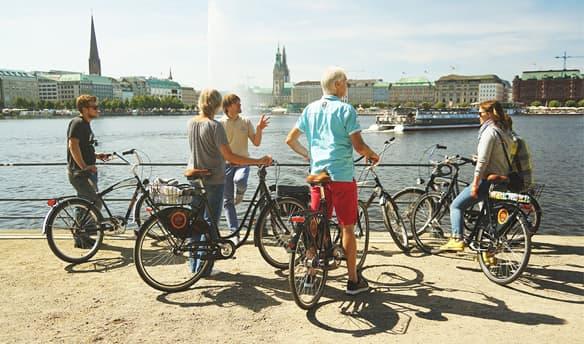 Hamburg Spotlight in Hamburg, Ausstellung, 09.06.2018, Treffpunkt: Hamburg City Cycles - Copyright Hamburg City Cycles