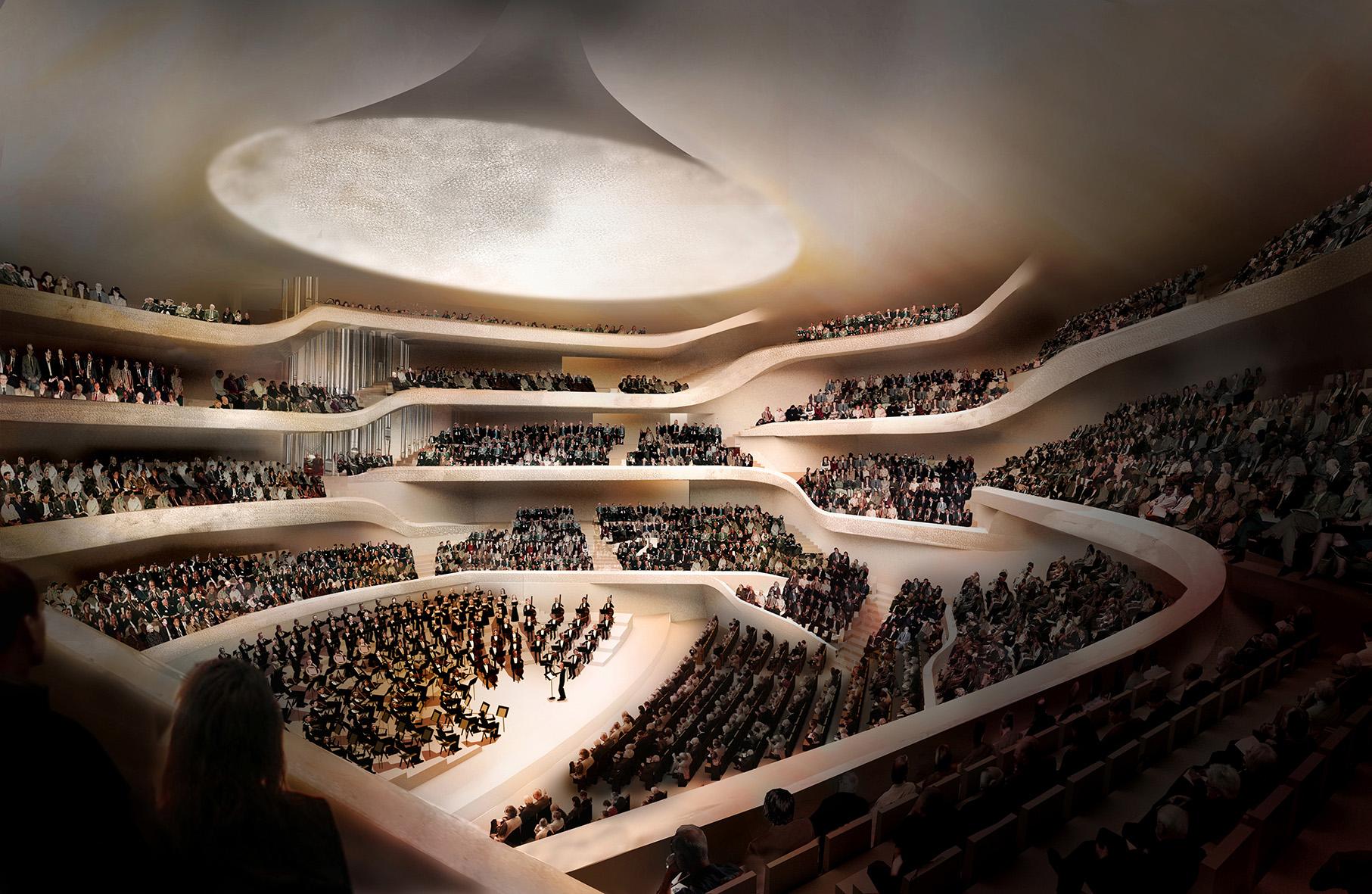 Bild: Elbphilharmonie - Großer Saal