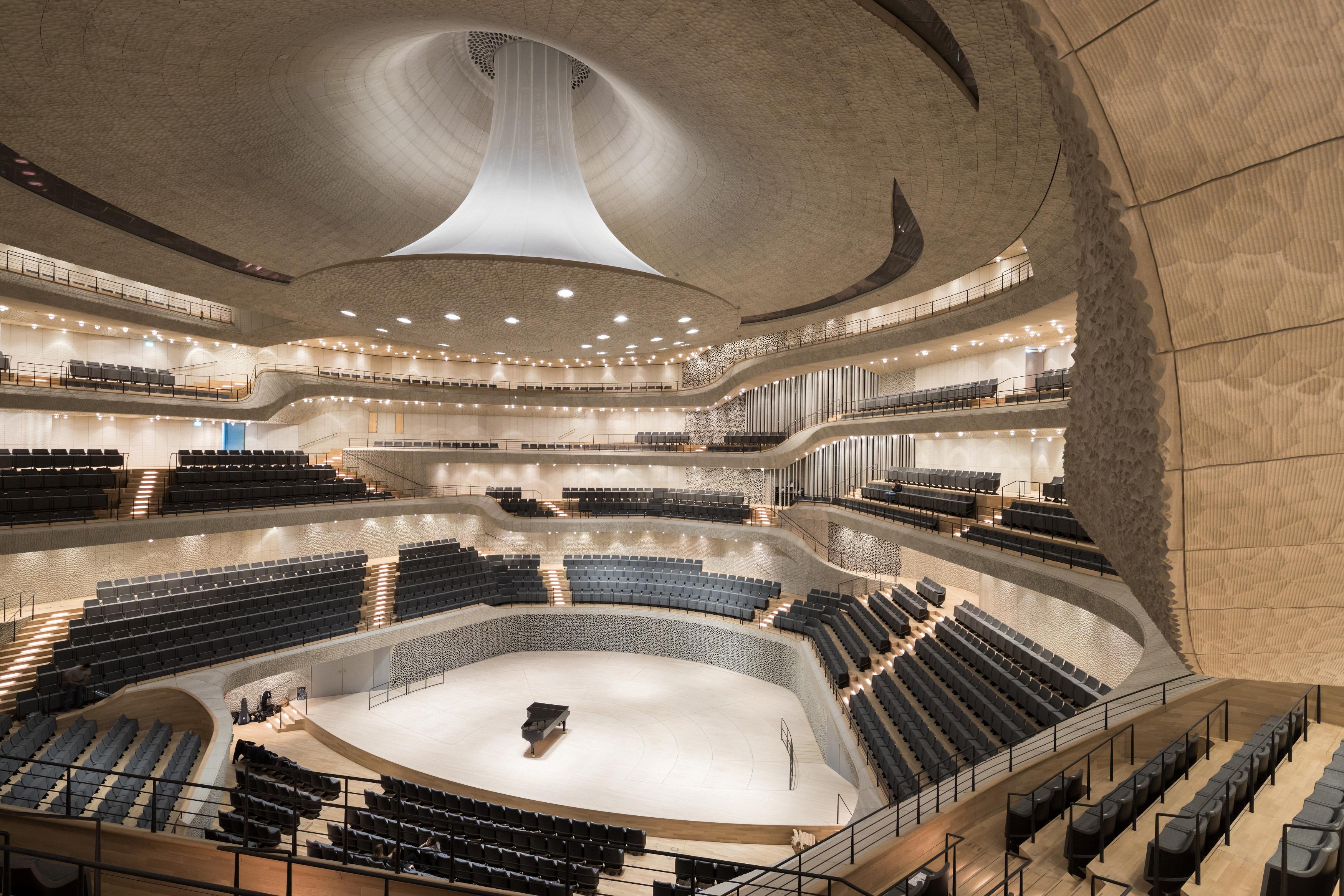 Bild: Großer Saal der Elbphilharmonie