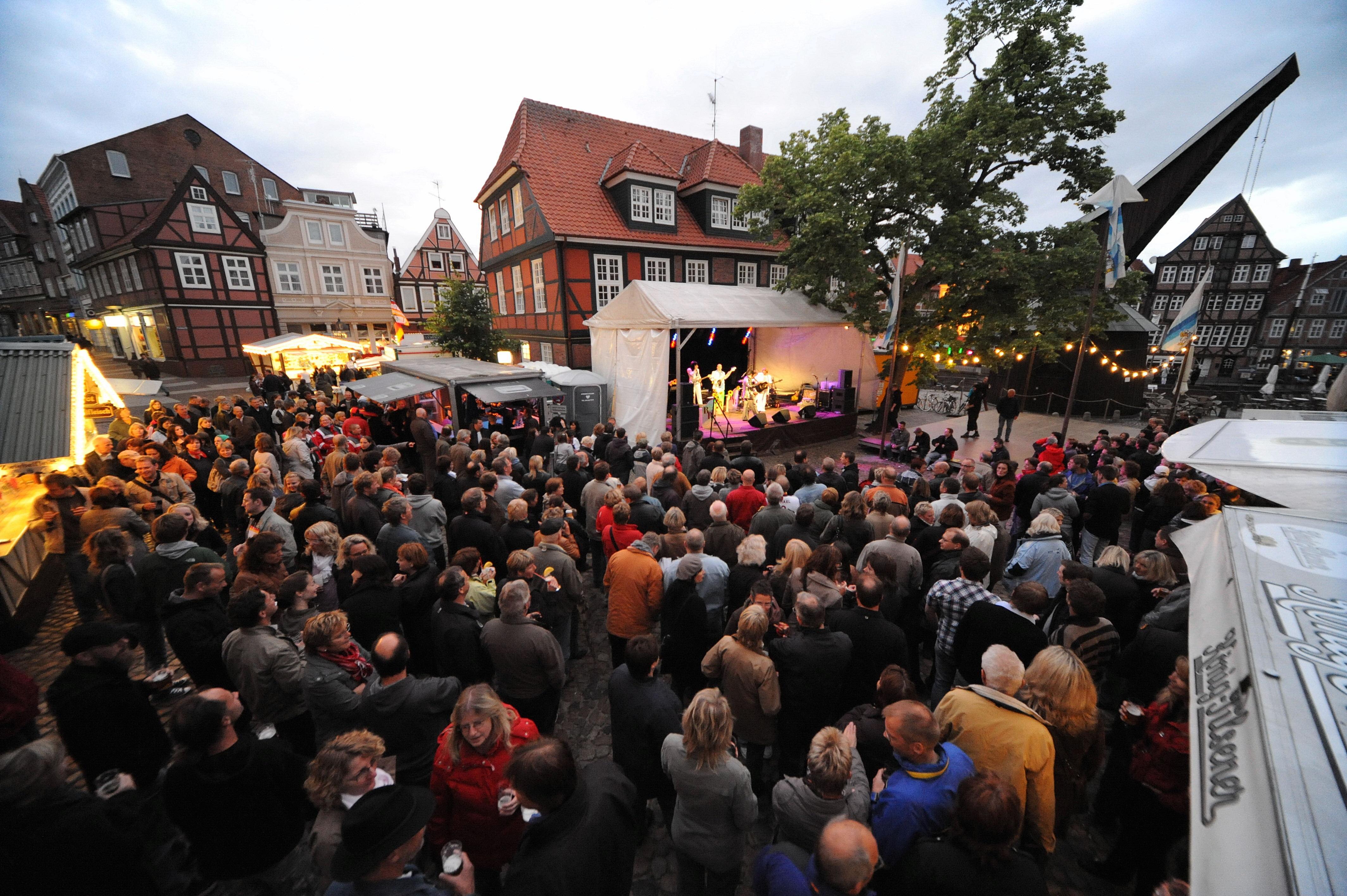 Auftritt beim Stader Altstadtfest