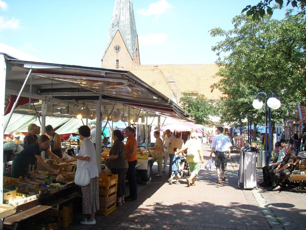 Wochenmarkt Eutin