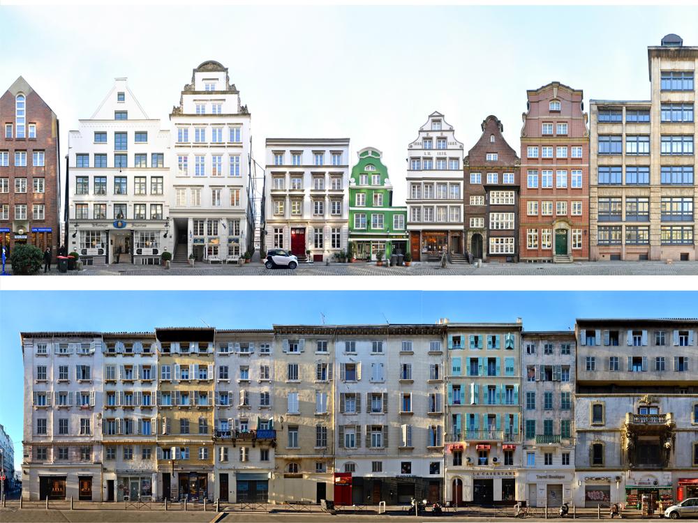 Altstadtstraßen | Rues de la vieille ville