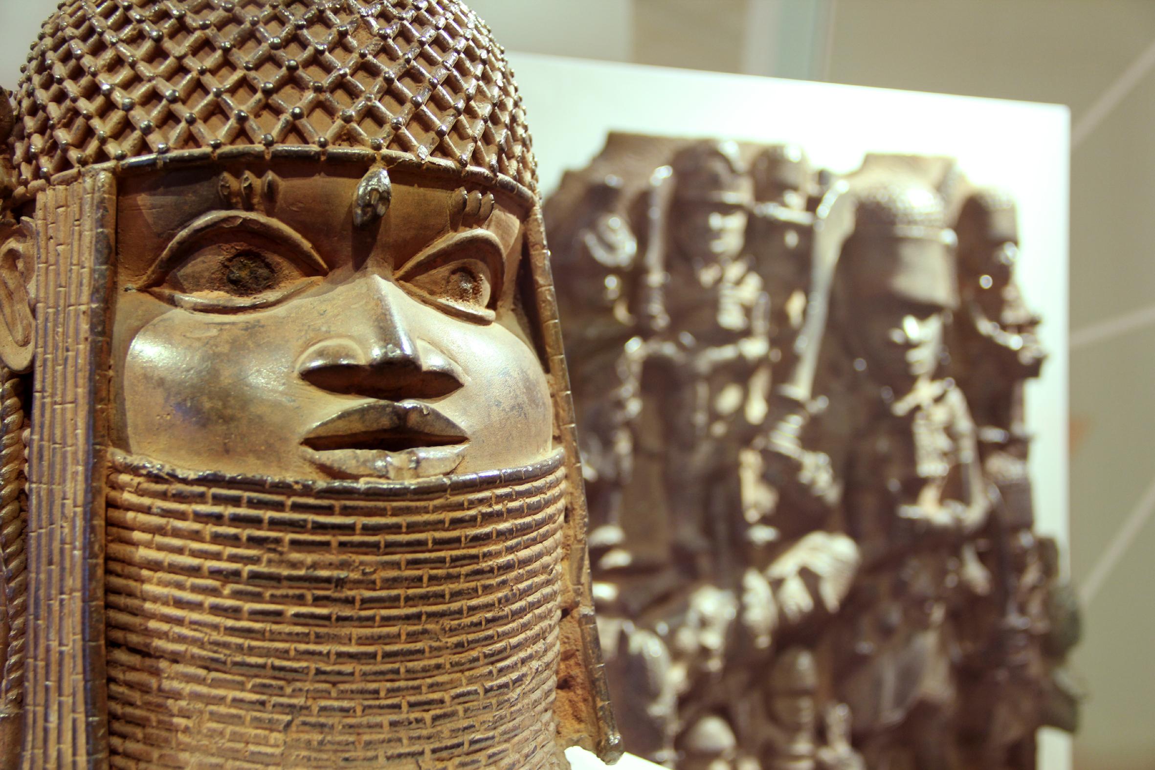Raubkunst? Die Bronzen aus Benin in Hamburg, Ausstellung, 09.06.2018, Museum für Kunst und Gewerbe - Copyright Michaela Hille
