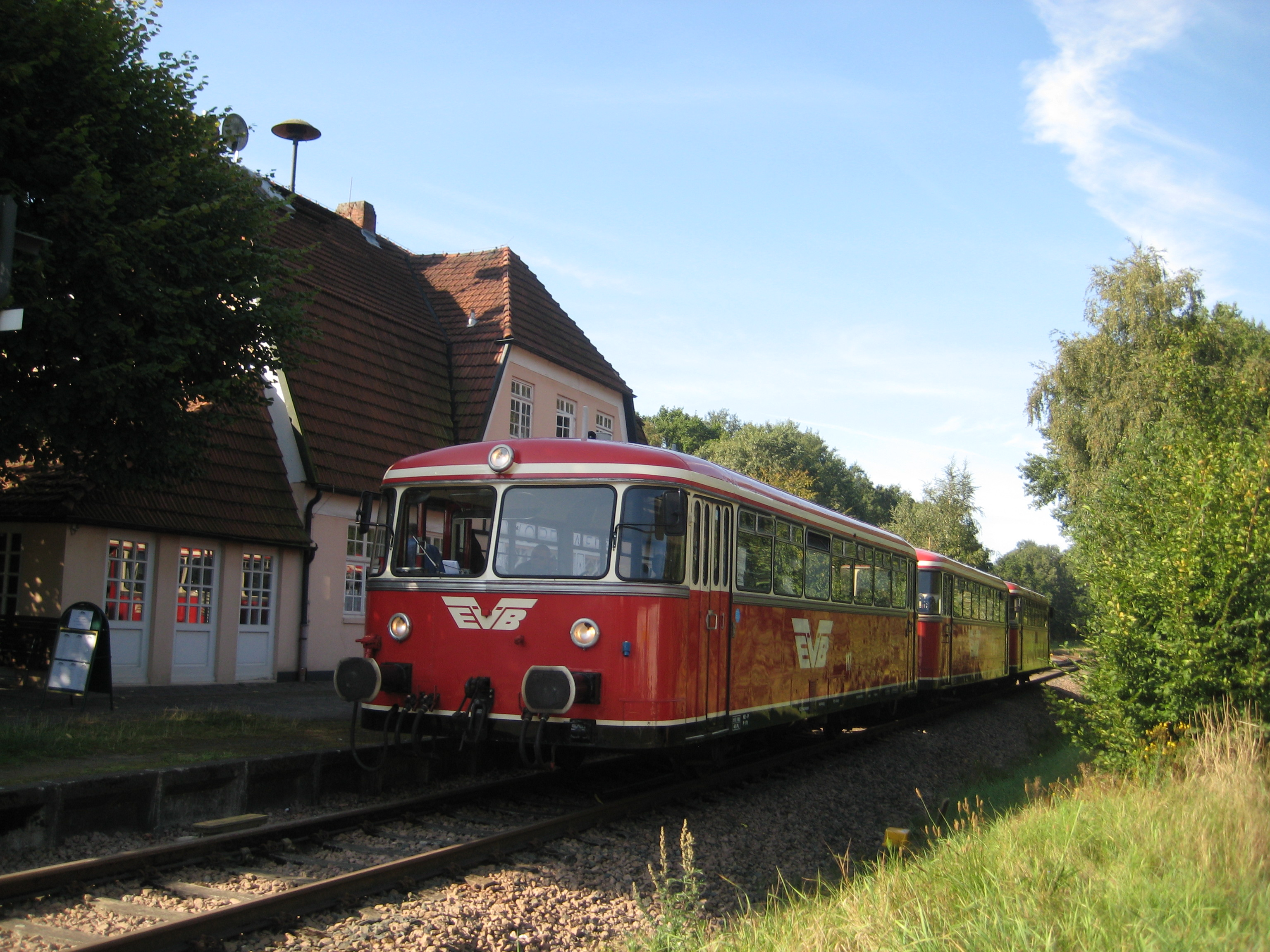 Der Moorexpress in Worpswede