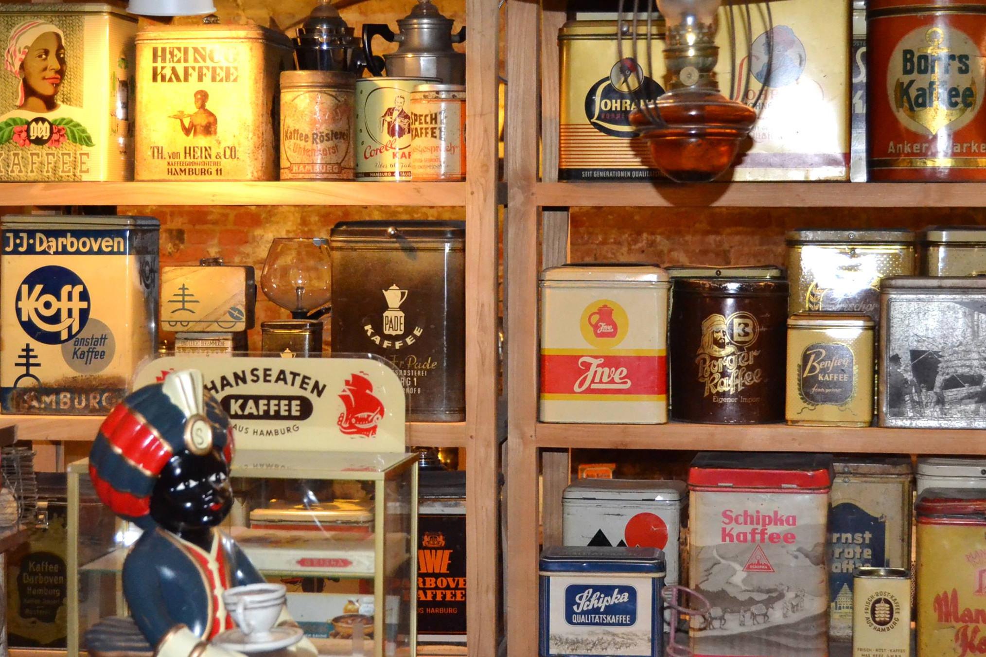 Öffentliche Kaffeeverkostung und Kurzführung durch das Museum in Hamburg, Ausstellung, 09.06.2018, Kaffeemuseum Burg - Copyright Kaffeemuseum - Rösterei Burg