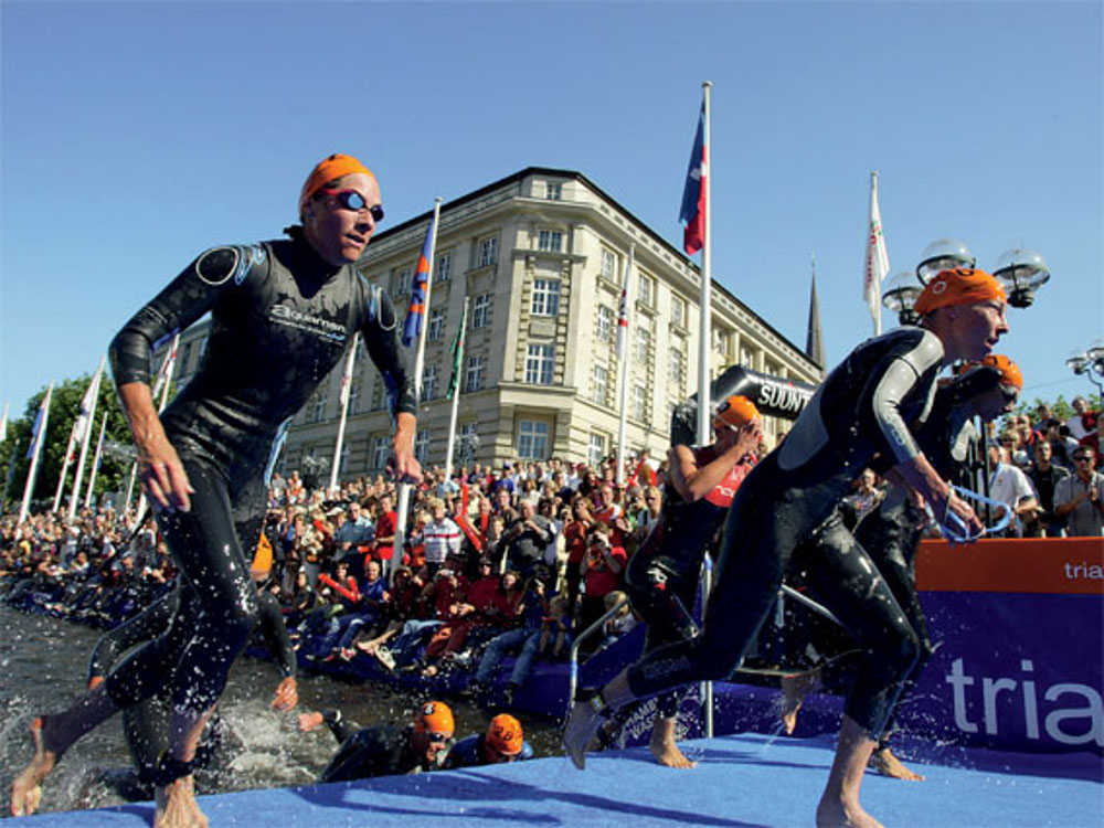 Ironman in Hamburg
