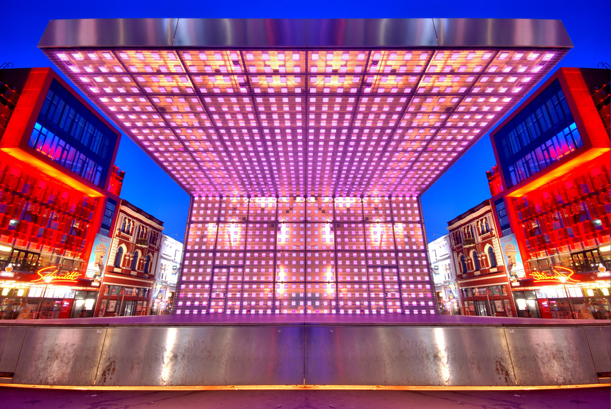 Bild: Blick auf die Bühne