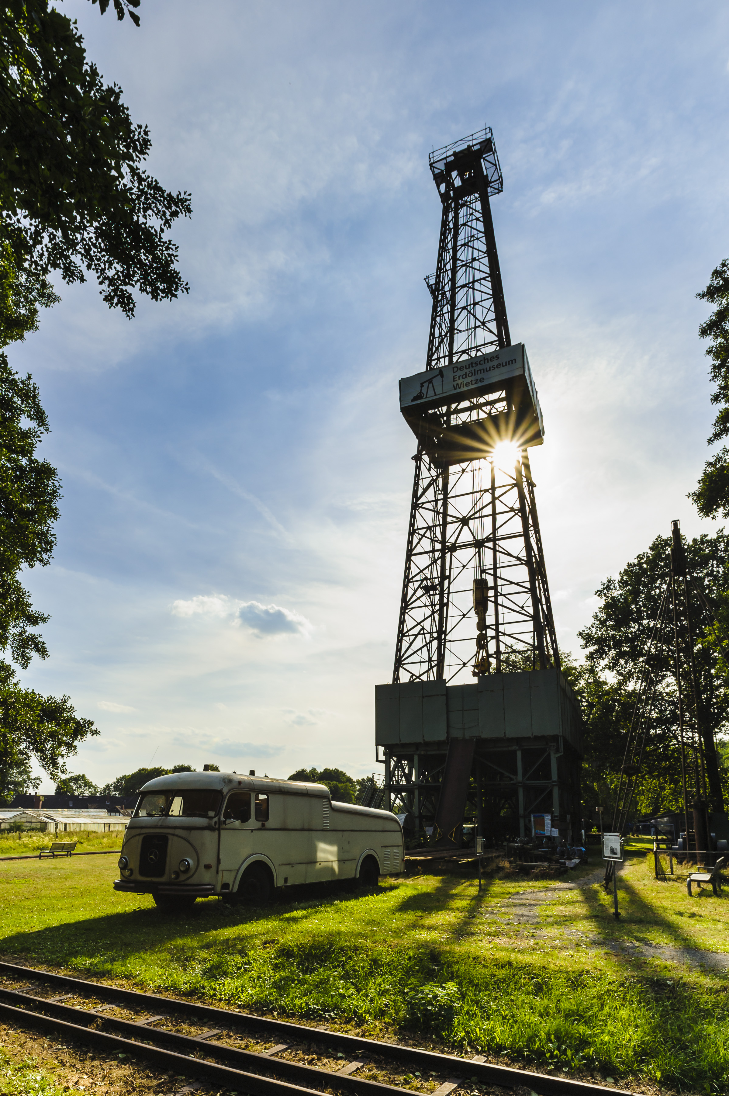 Wietze Bohrturm Erdölmuseum