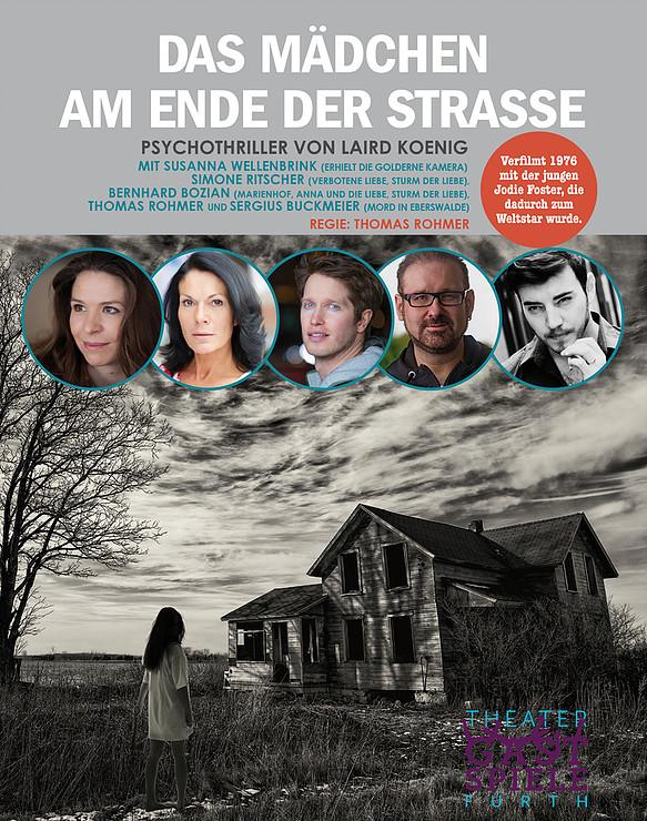 Das Mädchen am Ende der Strasse in Geesthacht, Kleinkunst, 27.03.2019, Kleines Theater kTS - Copyright Theatergruppe Fürth
