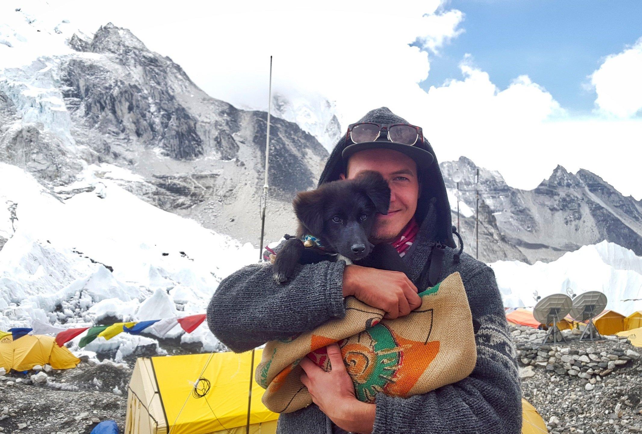 Phil und Tiksa im Himalaya