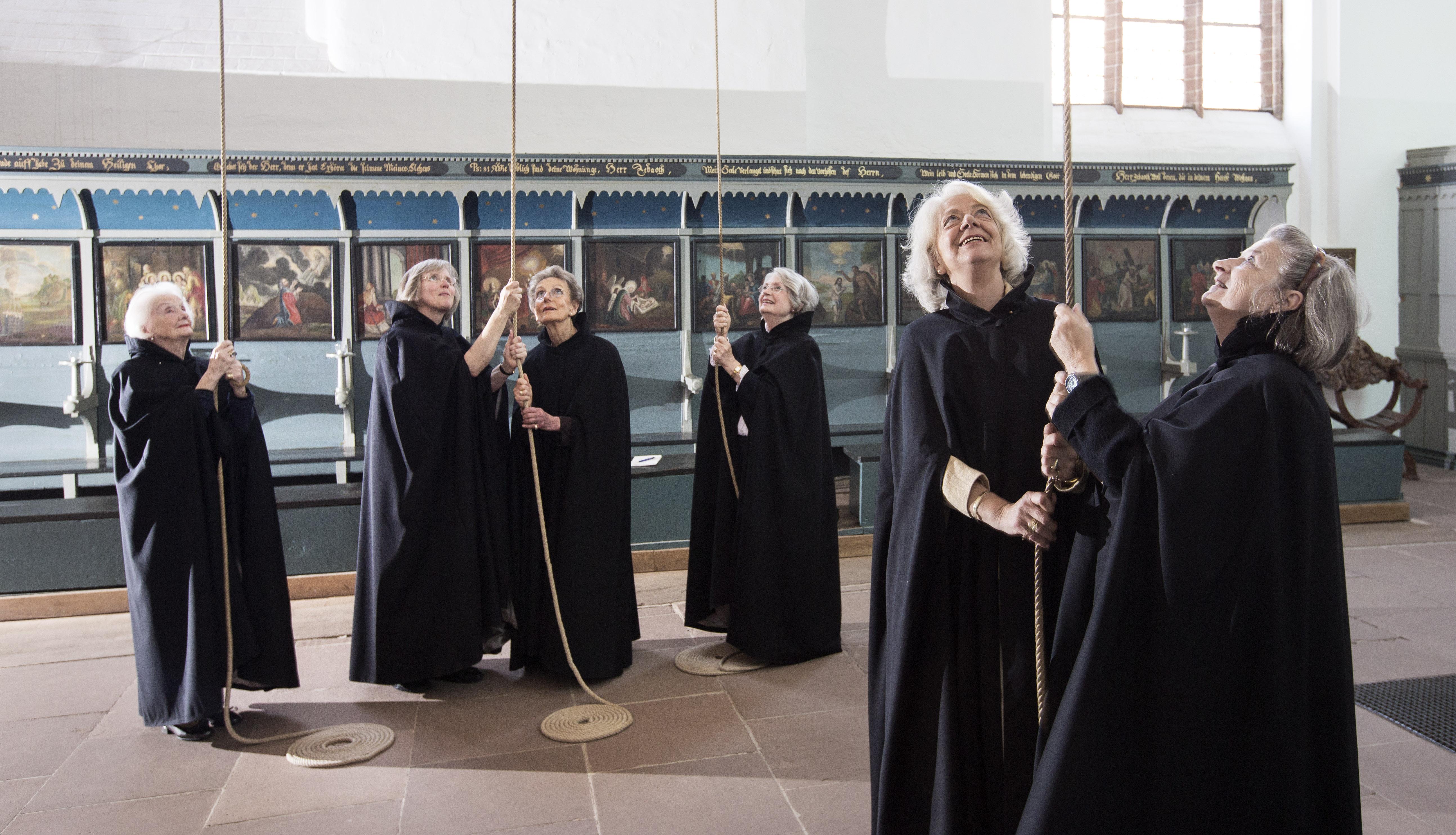 Läuten auf dem Nonnenchor