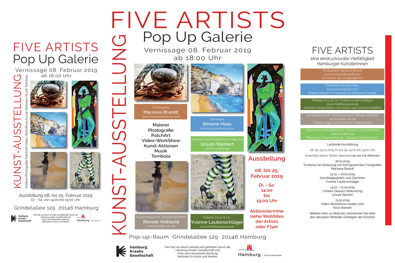 FIVE ARTISTS