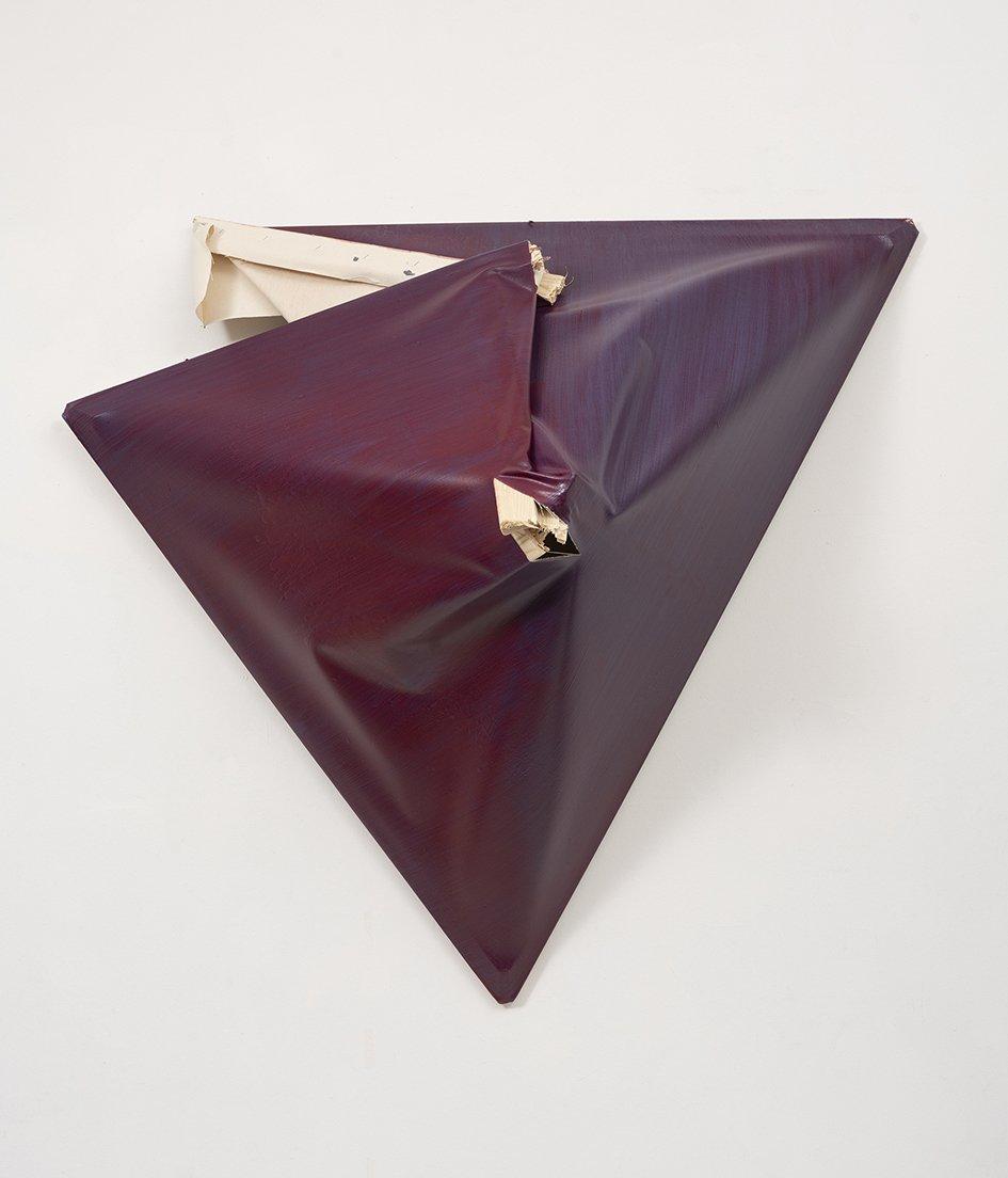 o.T., 2018, ca. 110 x 116 x 50 cm, Acryl auf Leinwand