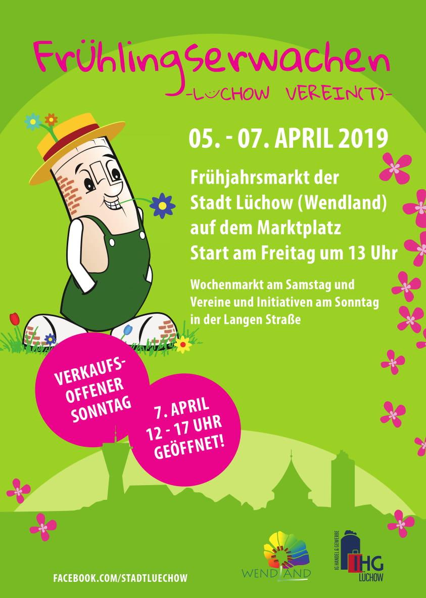 Frühlingserwachen und Frühjahrsmarkt