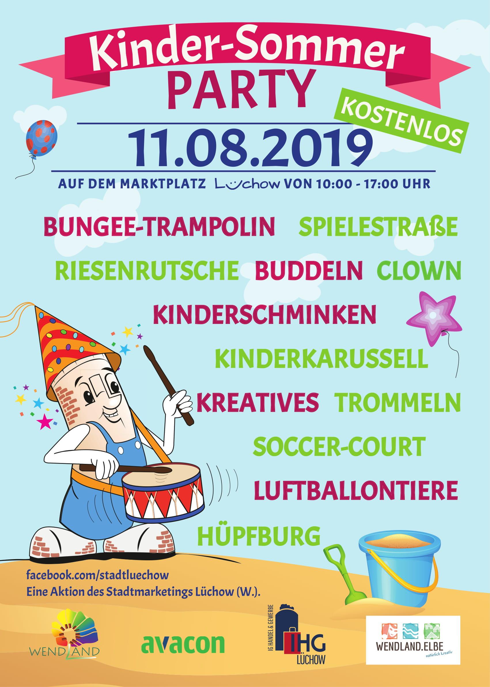 Kinder-Sommer PARTY