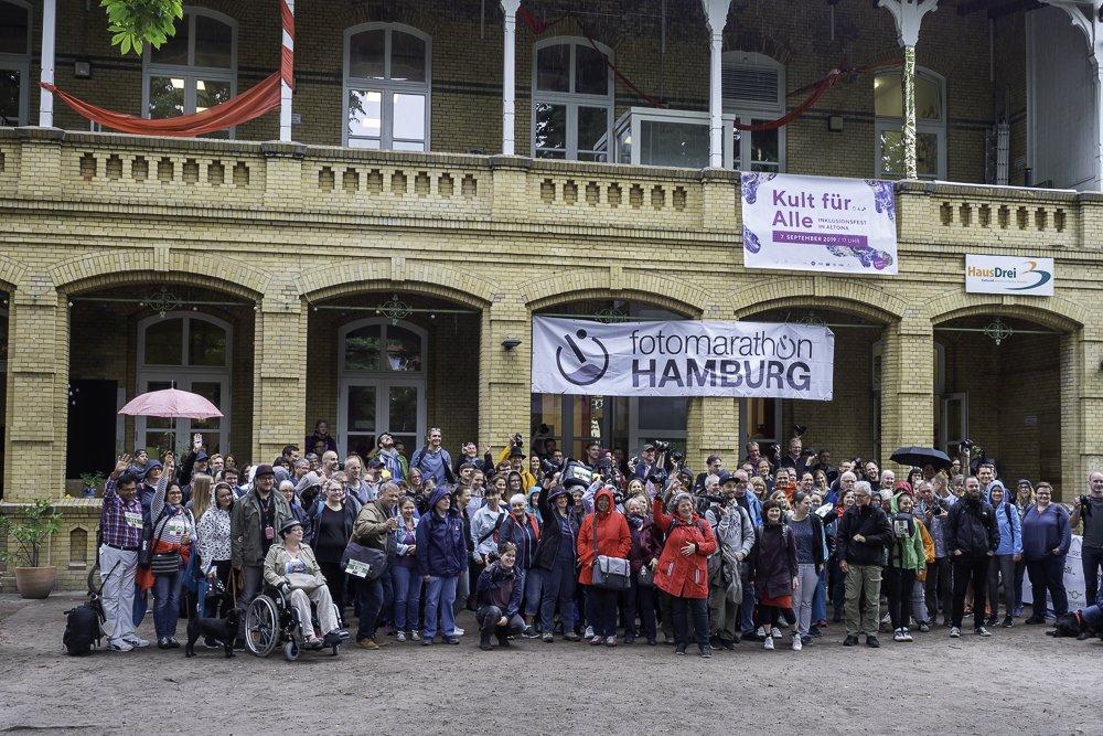 Start zum 8. Hamburger Fotomarathon