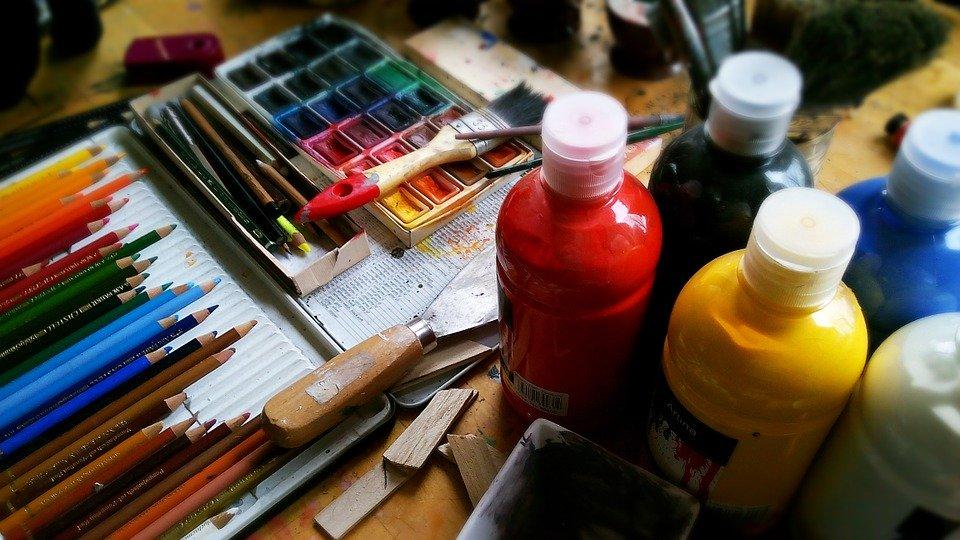 Malen, Zeichnen, freies Gestalten für Anfänger*innen