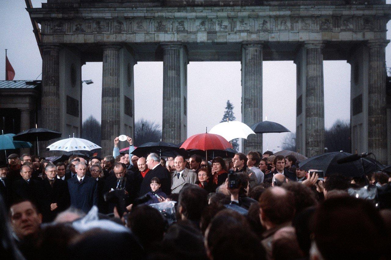 Öffnung des Brandenburger Tores am 22. Dezember 1989