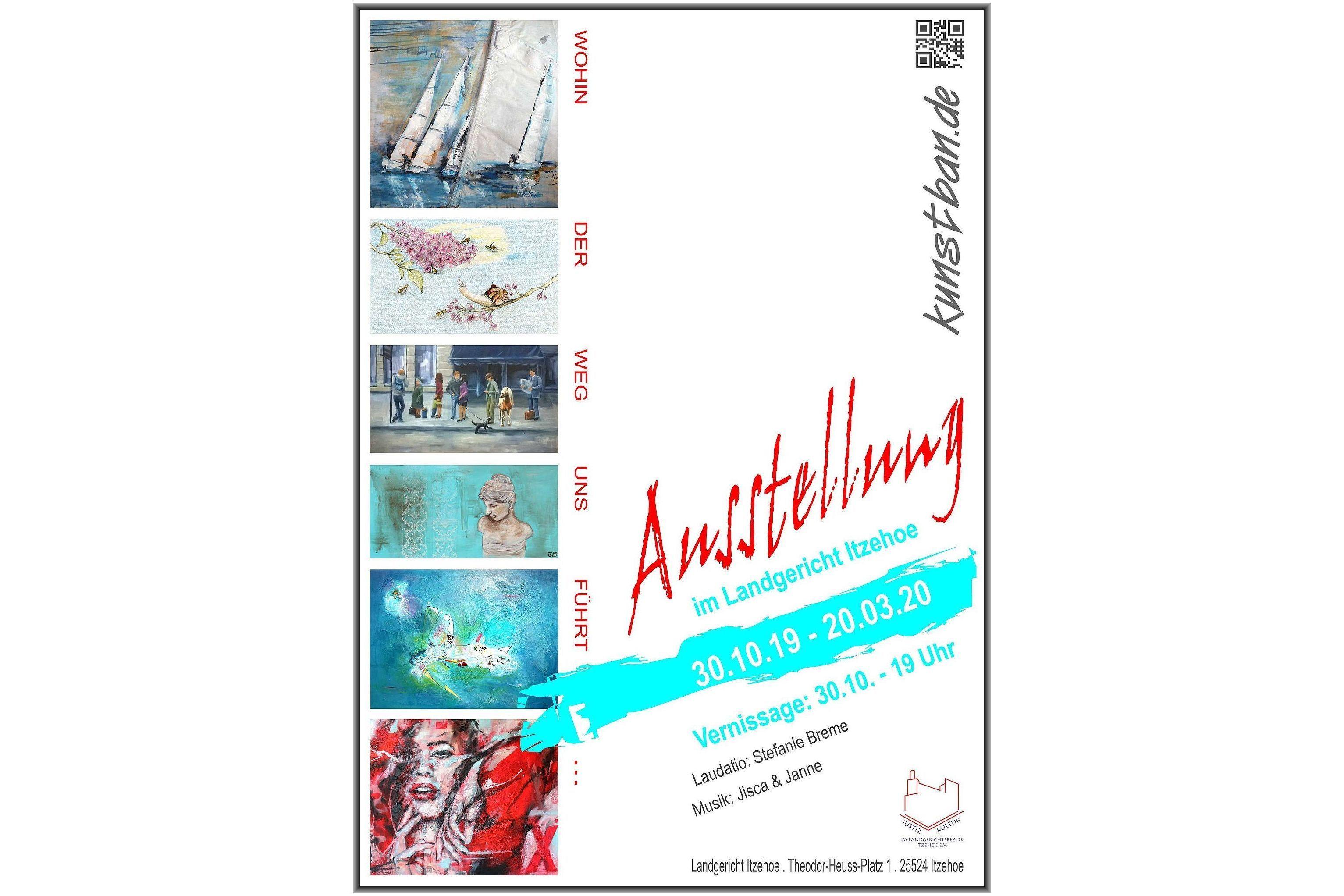 Ausstellung im Landgericht Itzehoe