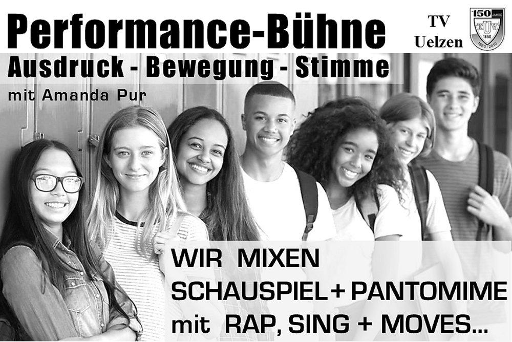 Performance-Bühne