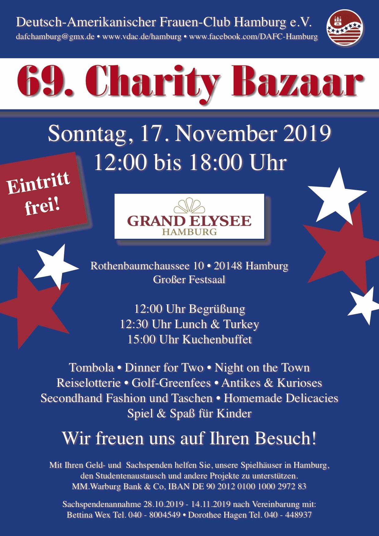 69. Charity Bazaar