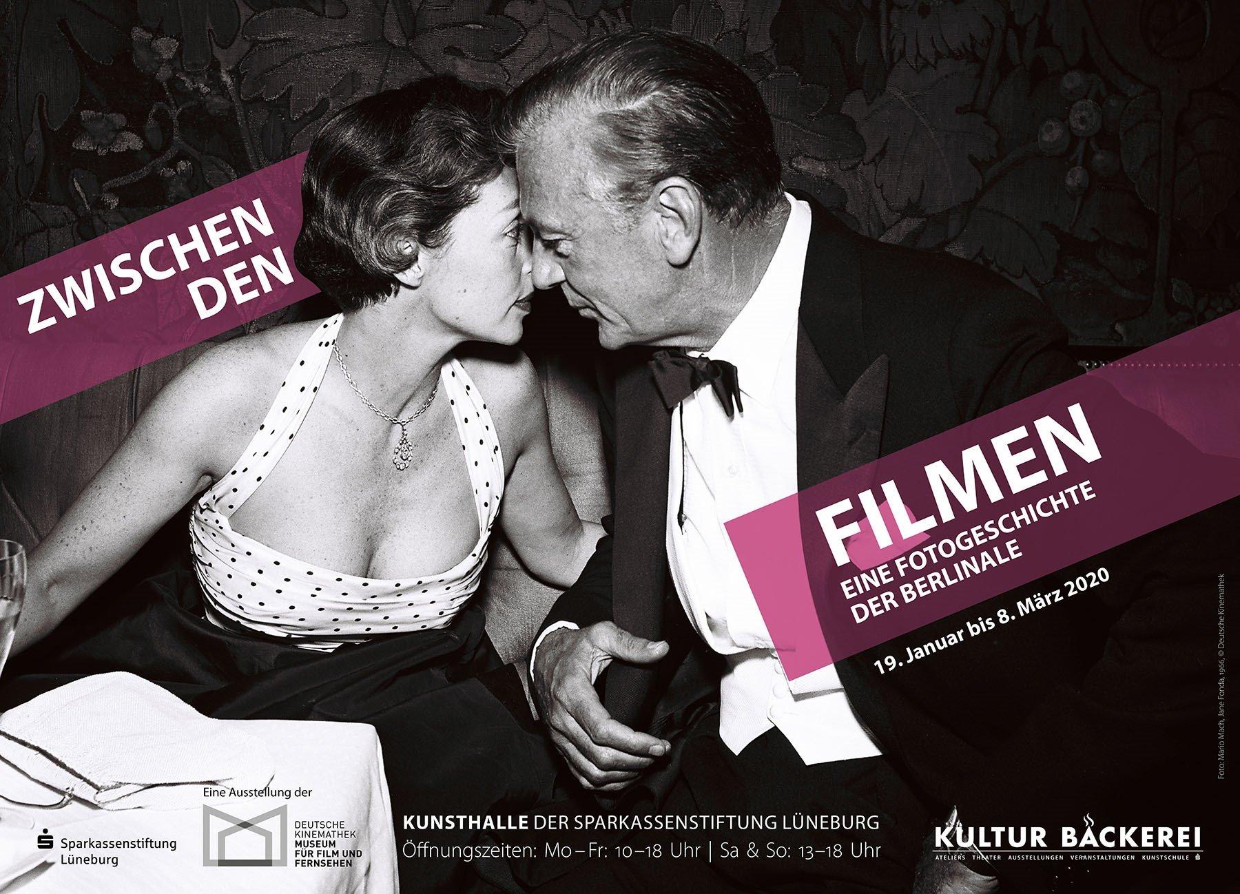 Lily Palmer & Gary Cooper, 1956 Foto: Mario Mach,  Deutsche Kinemathek