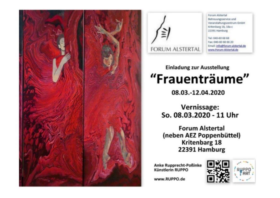 """Ausstellung """"Frauenträume"""""""