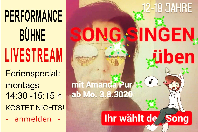Amanda Pur_SONG SINGEN üben