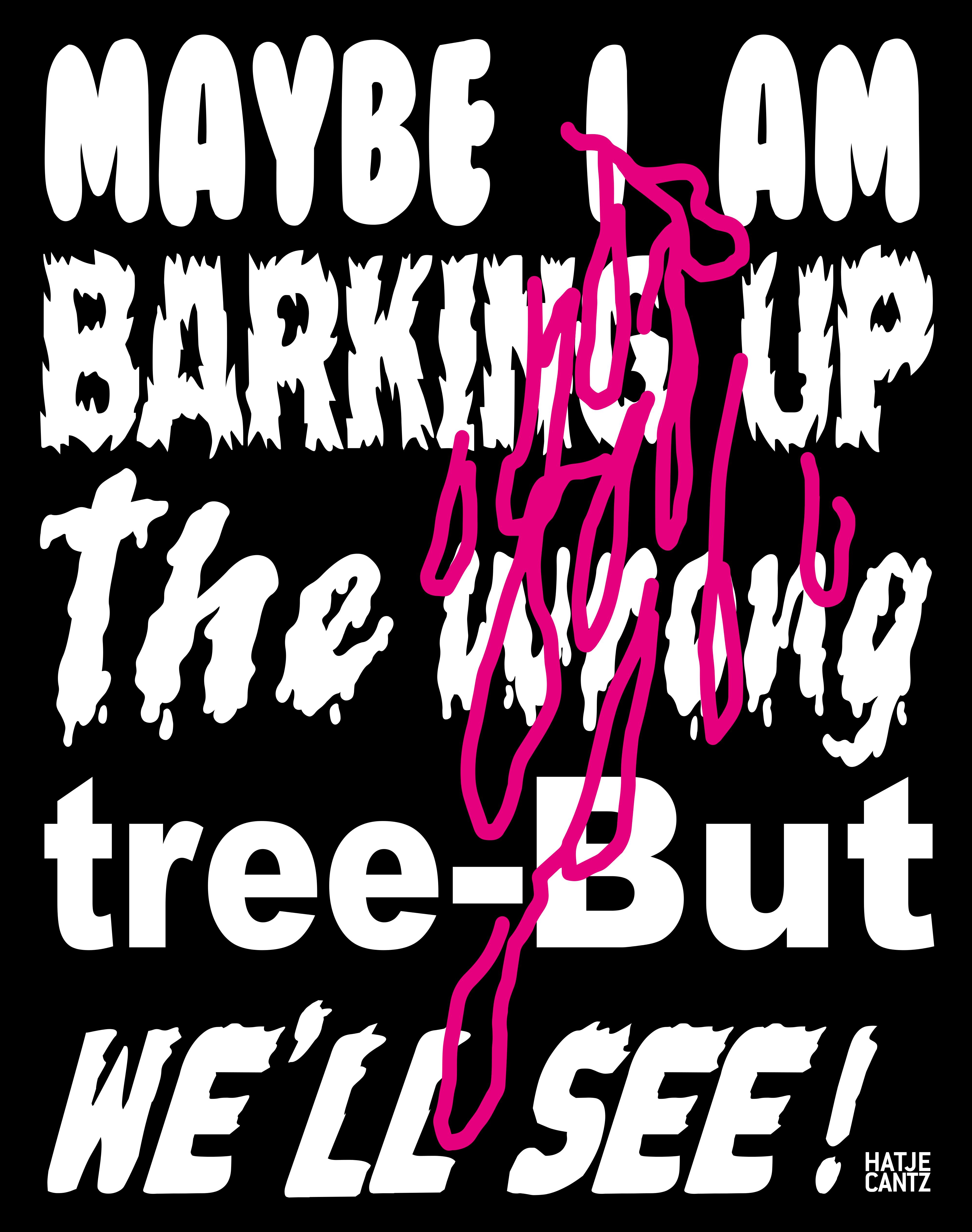 Katalogtitel Lukas Glinkowski   Maybe I Am Barking Up The Wrong Tree - But We'll See!