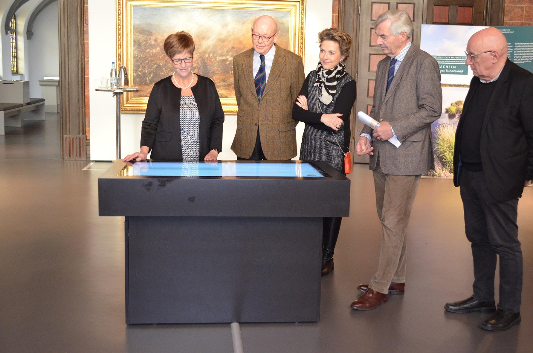 Medientisch im Bomann-Museum