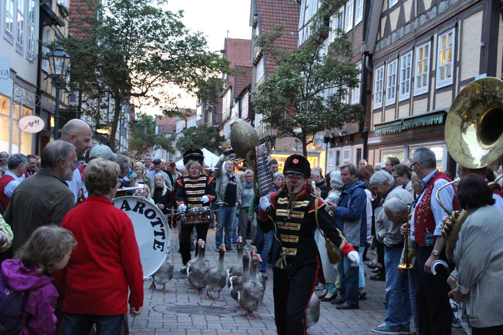 Streetparade in Celle
