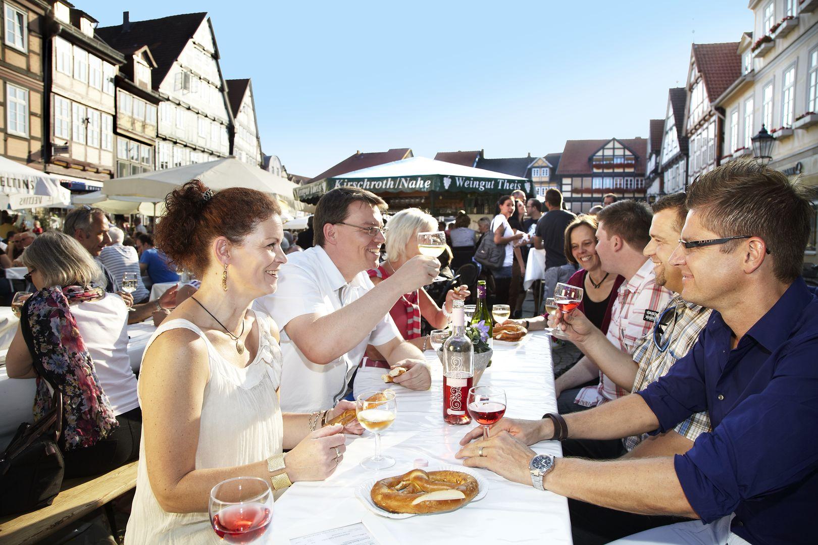 Celle Weinmarkt