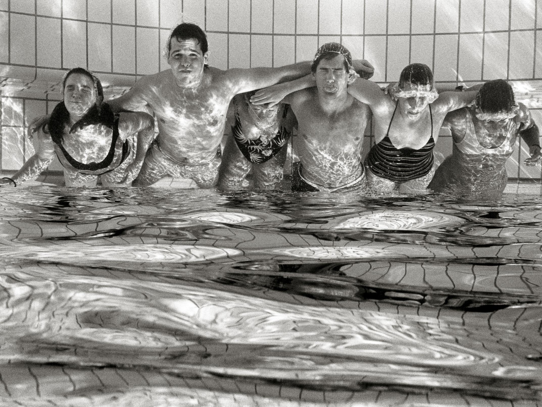 Unterwasser-Gruppenportrait