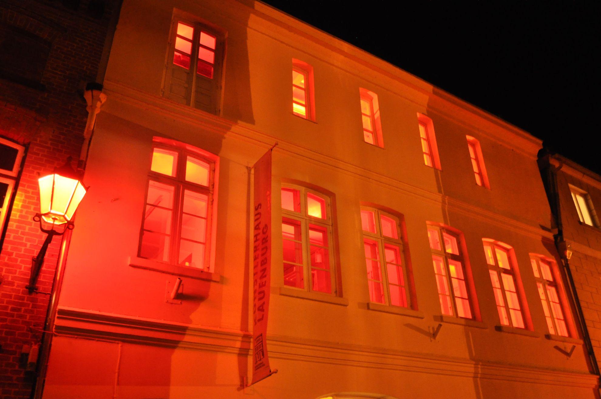 Das Künstlerhaus des Nachts