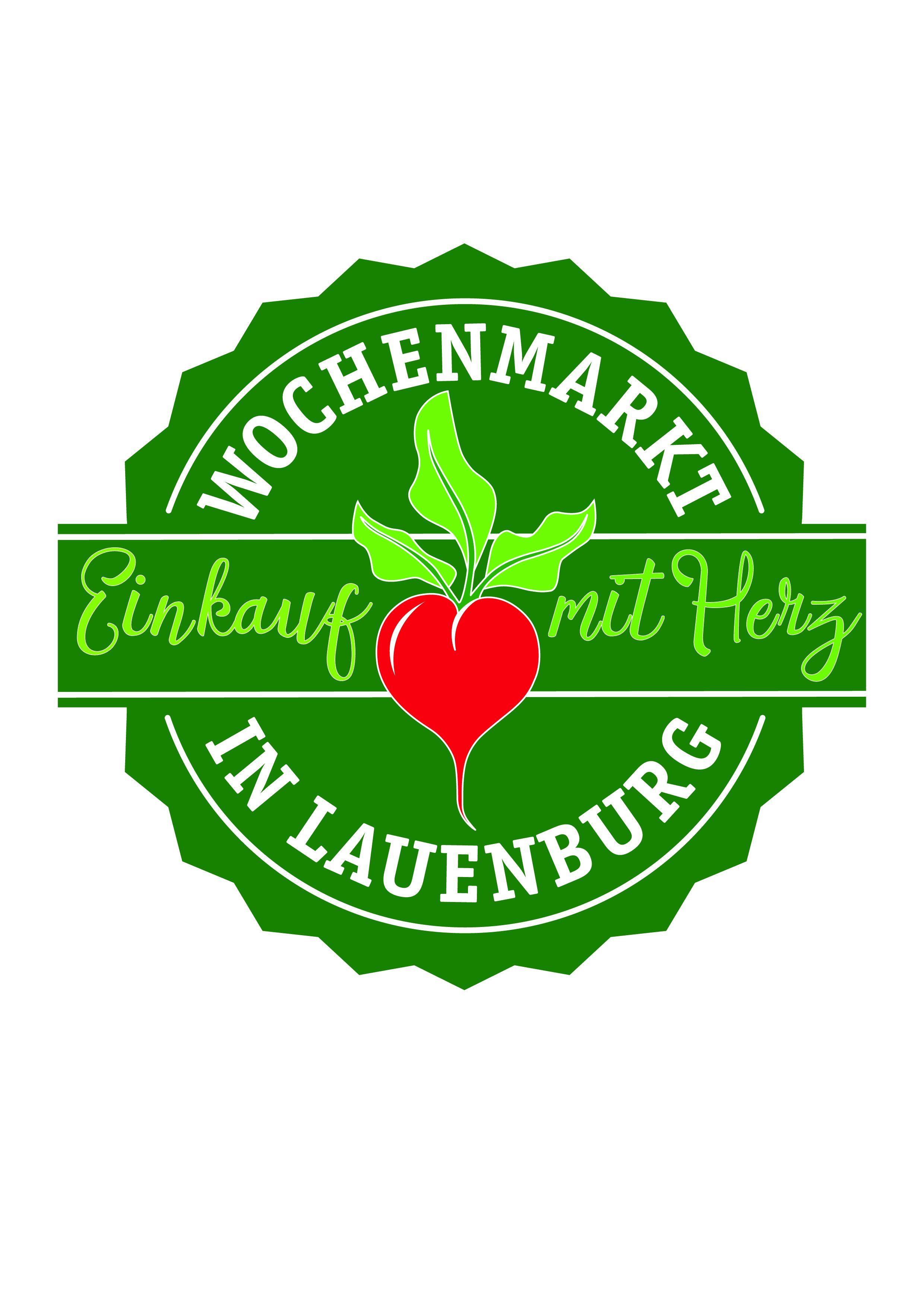 Der Wochenmarkt in Lauenburg/Elbe