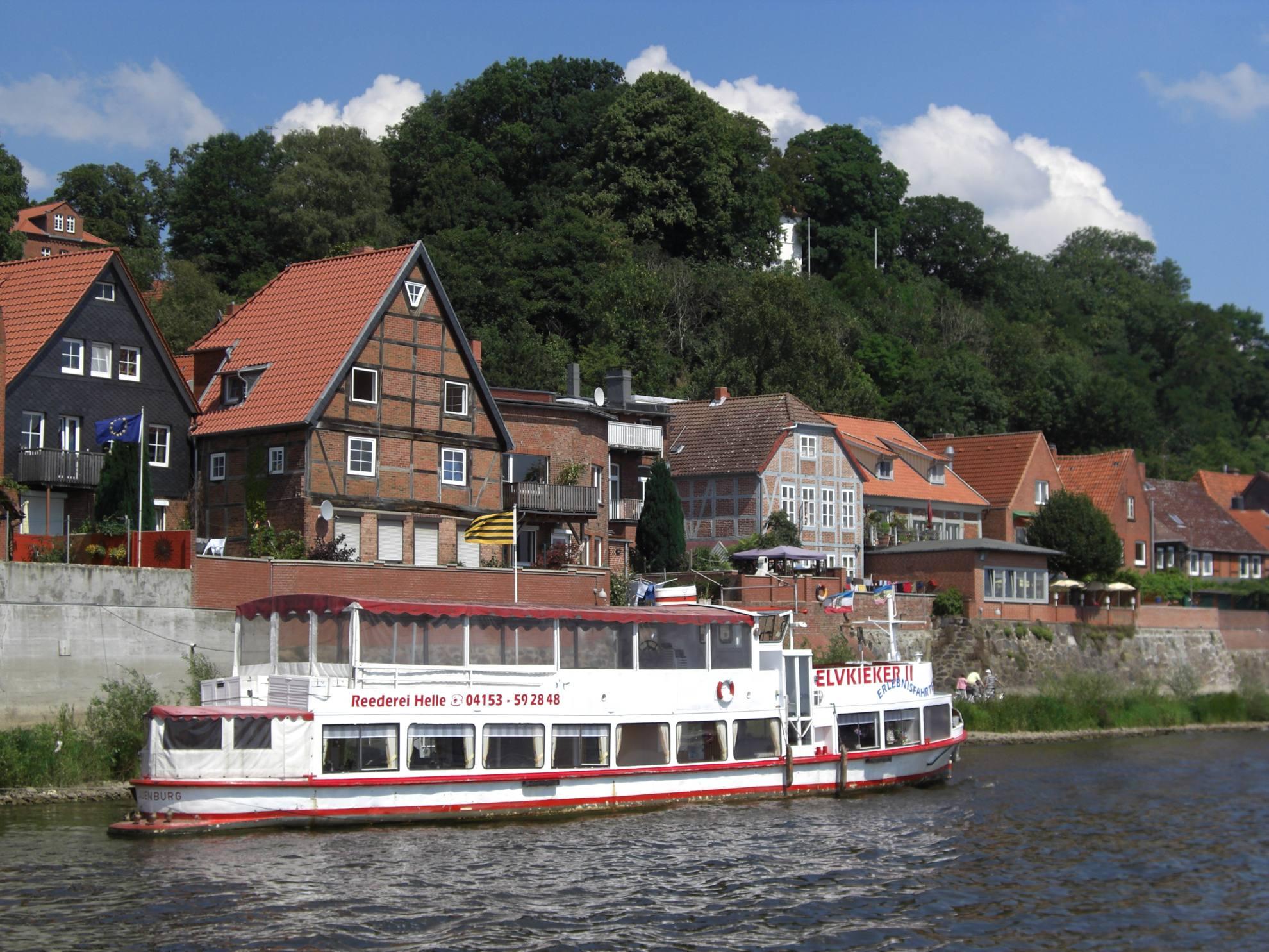 Elvkieker vor Lauenburg/Elbe