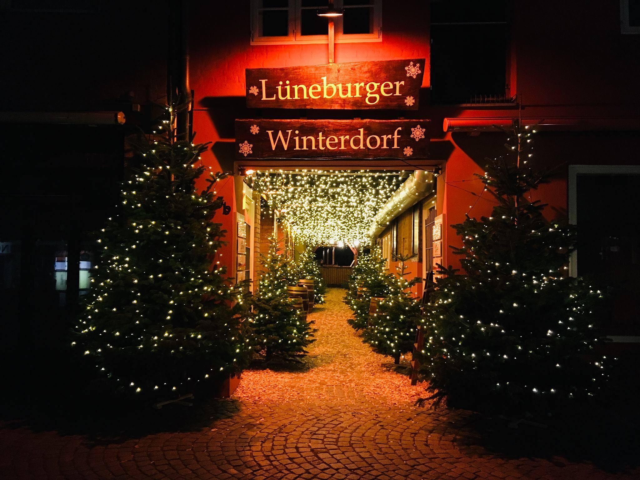 Lüneburger Winterdorf