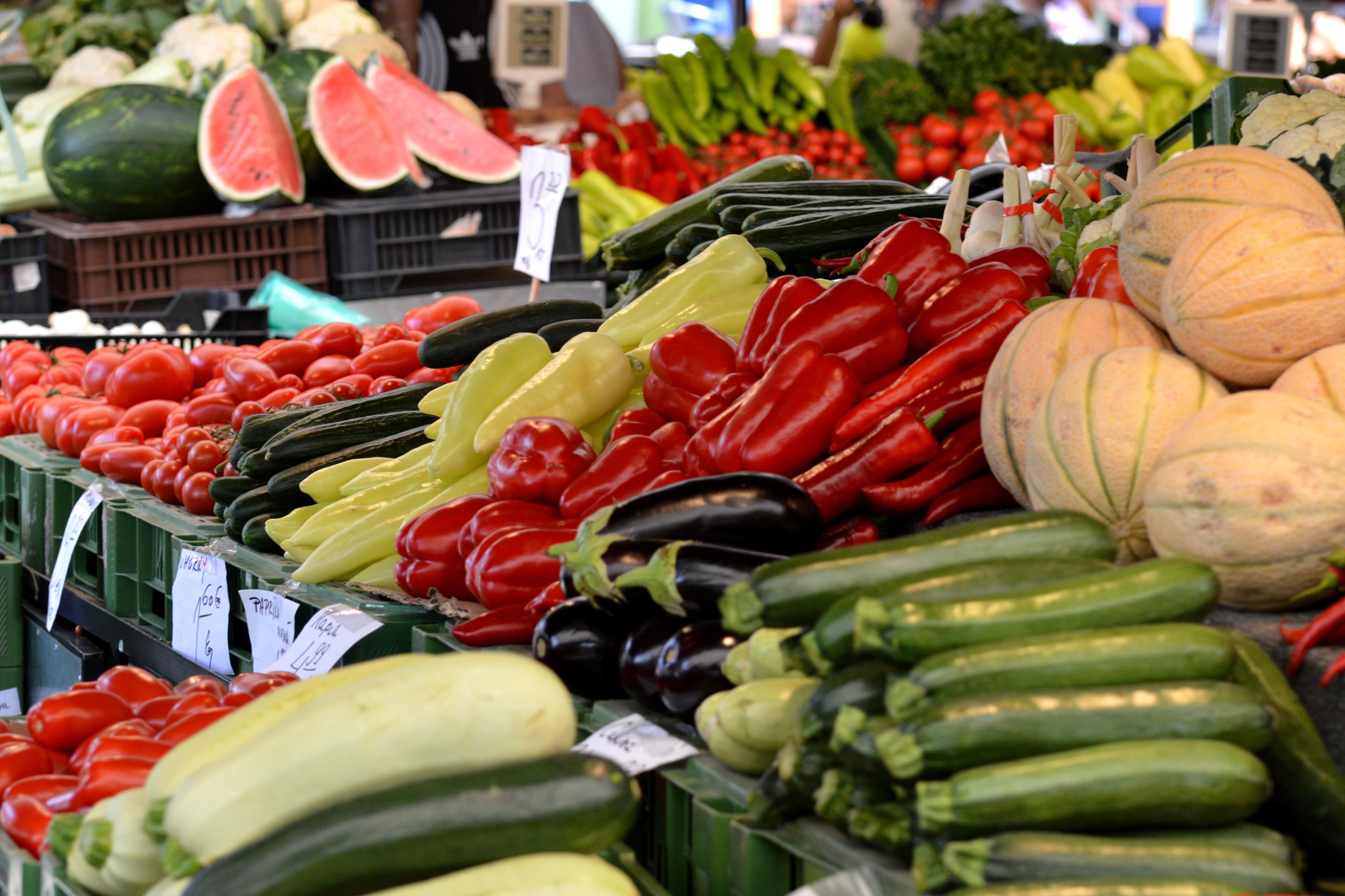 Wochenmarkt in der Kandinskyallee