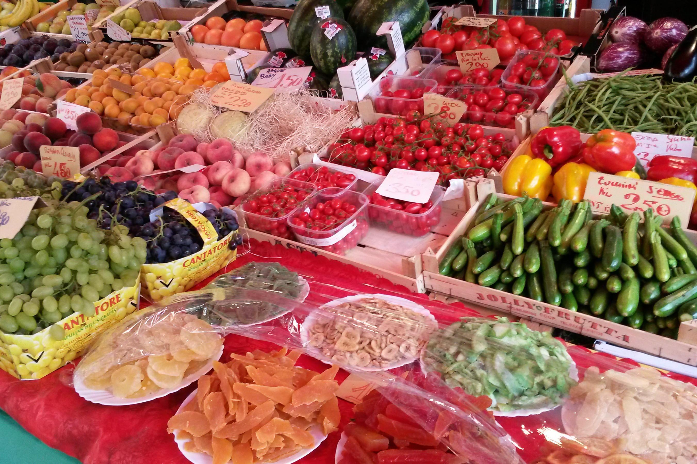 Bio-Wochenmarkt in Haffkrug